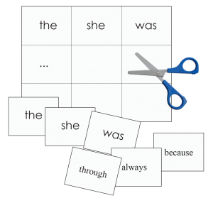 Custom Sight Words