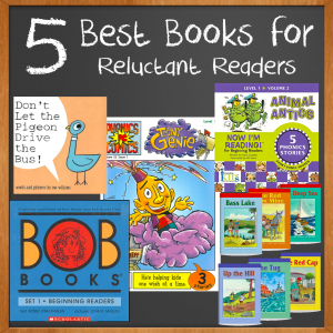 5 Best Books for Reluctant Readers