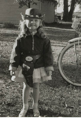 Young Jackie as Cowgirl