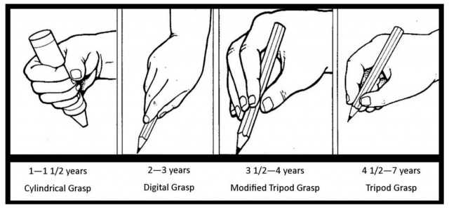 Development of pencil grips