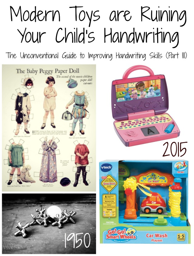 Modern Toys are Ruining Your Child's Handwriting: The Unconventional Guide to Improving Handwriting Skills (Part 3)