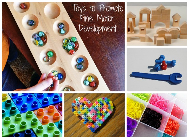Avoid batteries! Great toys to promote fine motor development and improve handwriting skills