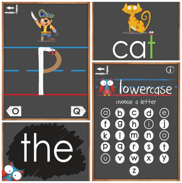Ollie's Handwriting & Phonics App for Kids