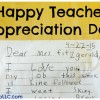 Happy Teacher Appreciation Day