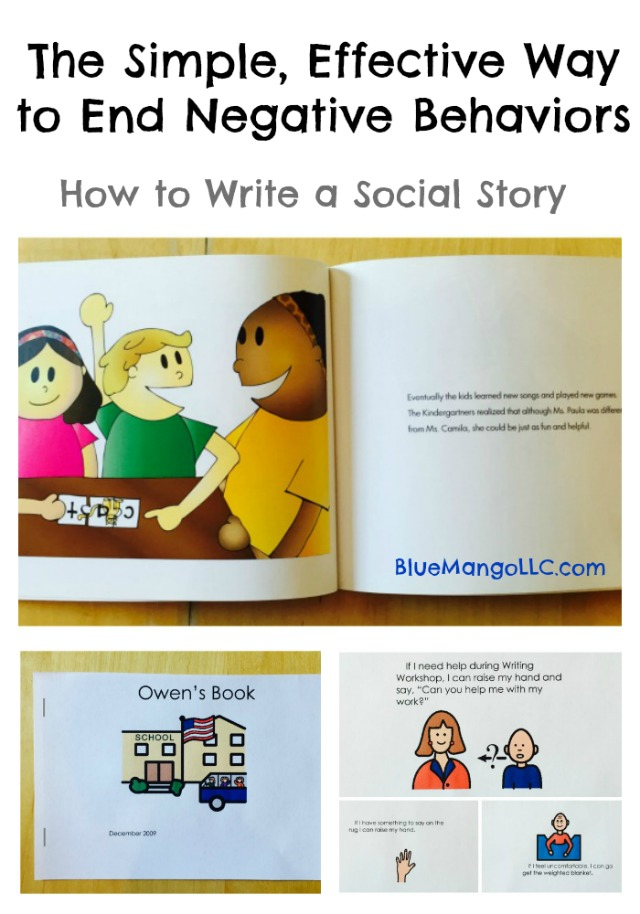 The simple, effective way to end negative behaviors how to write a social story
